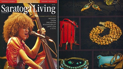 Saratoga Living Spotlights Patty Tobin Jewelry In Summer Fashion Special