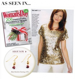 Woman's Day: Create a Holiday Party Look in Seconds